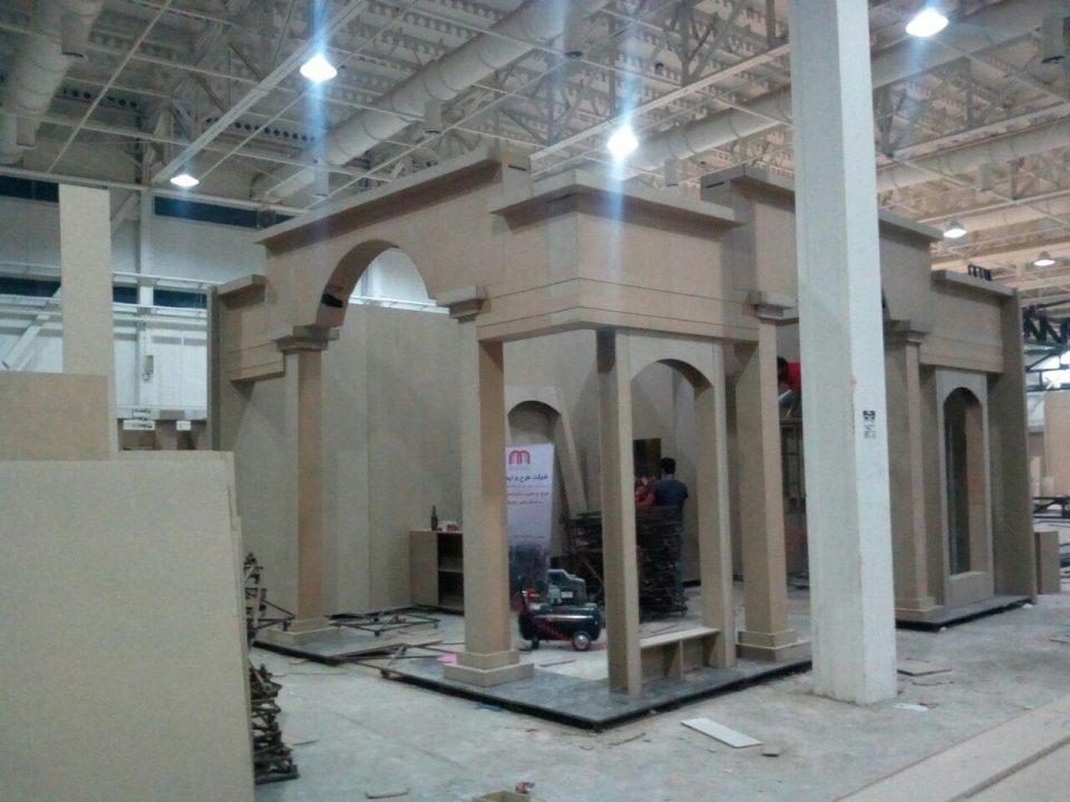غرفه سازی نمایشگاهی در نمایشگاه سنگ و سرامیک